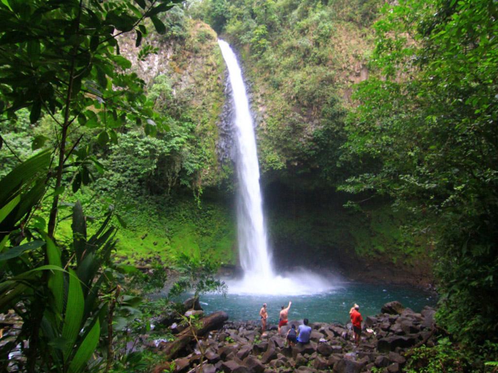La Fortuna vattenfall