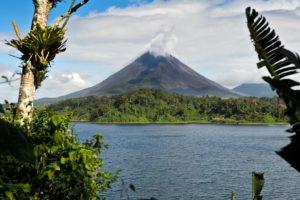 Vulkanen Arenal i La Fortuna