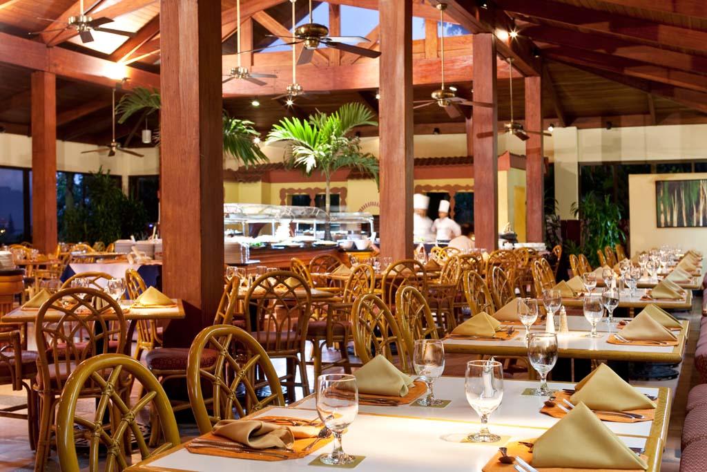 restaurang Barcelo Palacio i San Jose Costa Rica