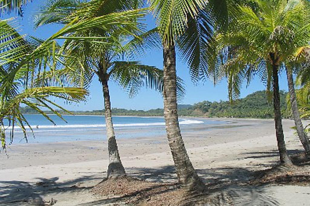 Playa Carillo i Costa Rica