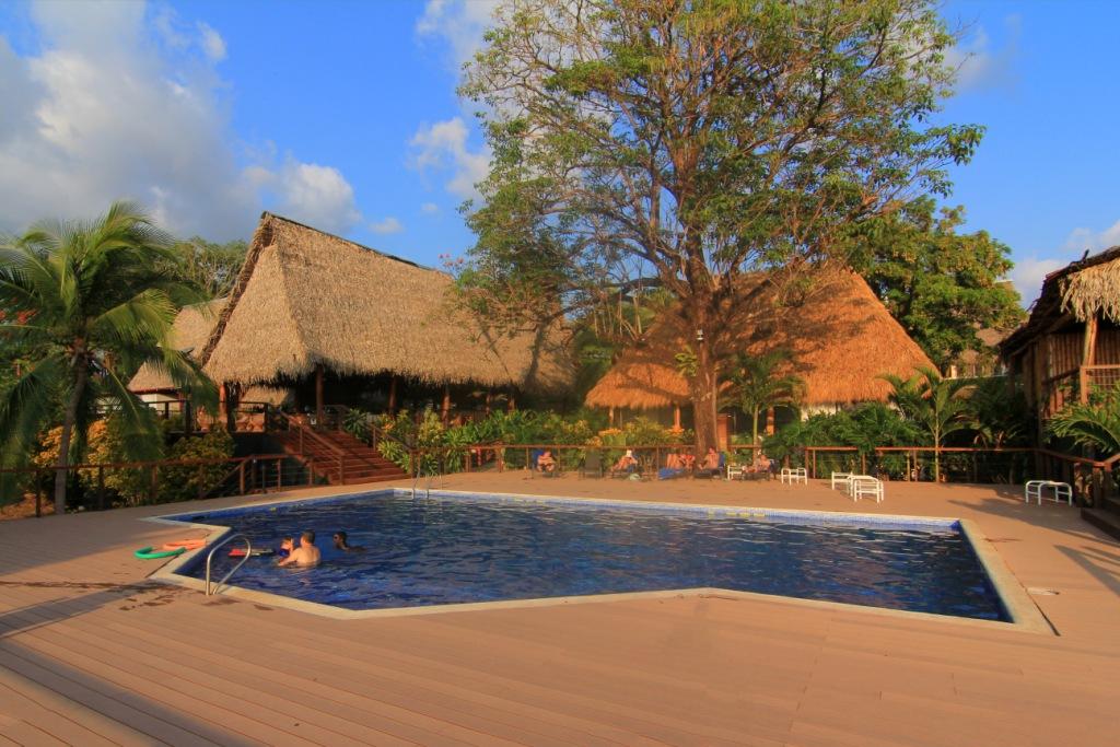 Fantastisk utsikt i Guanmar i Costa Rica