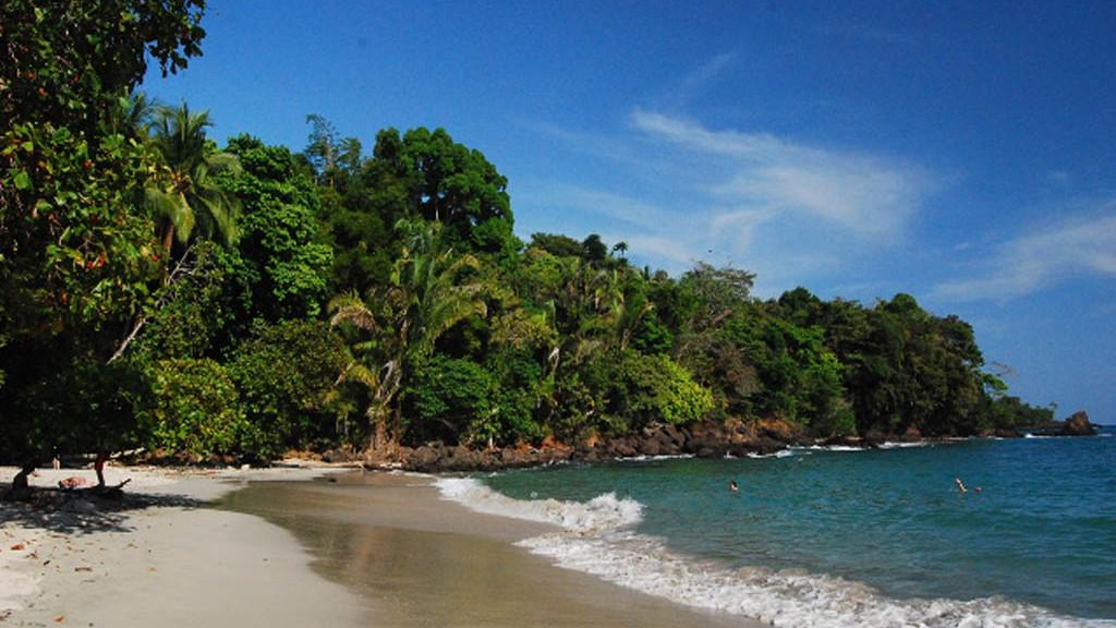 Samara, en strand i Costa Rica