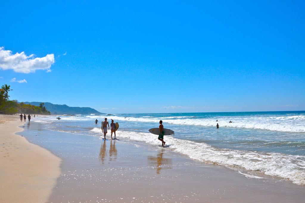 Surfparadiset Santa Teresa i Costa Rica