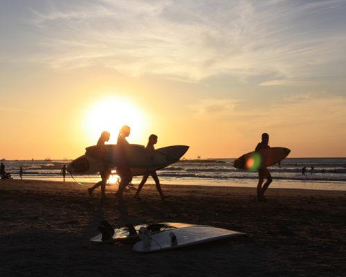 Tamarindo - en strand i Costa Rica
