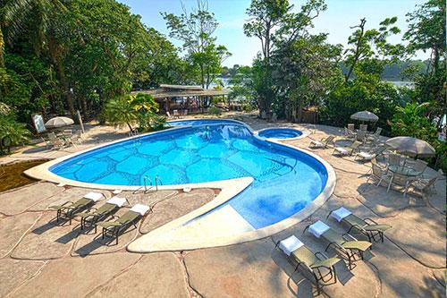 Pachira Lodge i Costa Rica