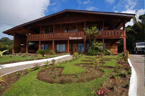 Hotel Heliciona i Costa Rica