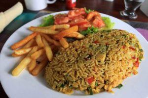 Ris & kyckling (Arroz con pollo)